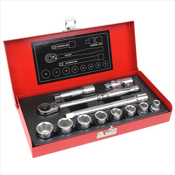 SK11 3/8 socket wrench set TS-312M 12PCS from Japan